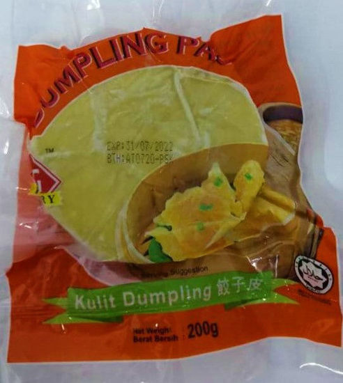 Picture of KG DUMPLING PASTRY ROUND<br> 饺子皮 <br> ( 1PKT / 200g )