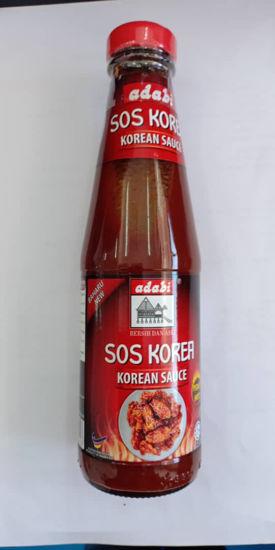 Picture of ADABI SOS KOREA PEDAS  <br>( 1BOTOL / 340g )