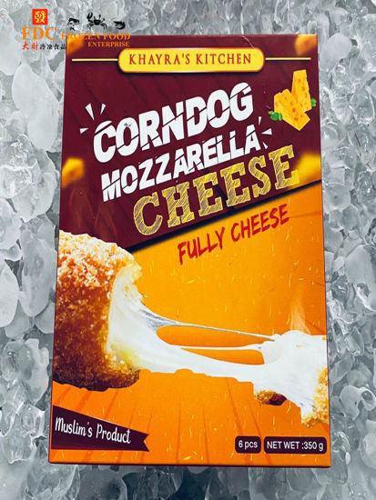 Picture of CORNDOG MOZZARELLA CHEESE FULLY CHEESE<br>( 1PKT / 350g )