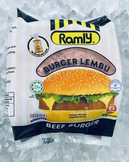 Picture of RAMLY LEMBU BURGER  <br>( 1PKT / 300g )