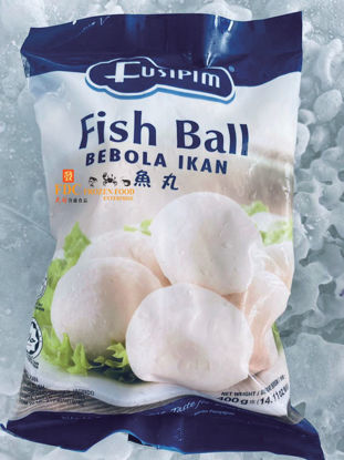 Picture of FUSIPIM FISH BALL <br>鱼丸 ( 1PKT / 400g)