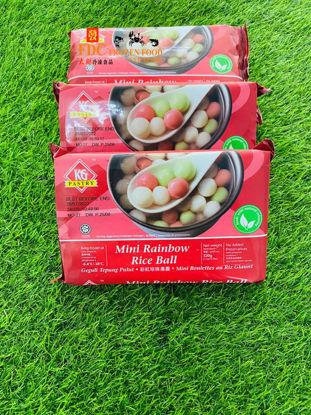 Picture of KG RAINBOW MINI RICE BALL <br>迷你彩虹汤圆 <br>( 1PKT / 320g )