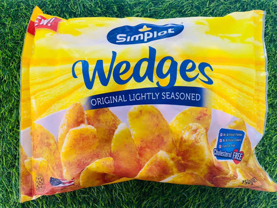 Picture of SIMPLOT WEDGES <br> 薯角 <br> ( 1PKT / 750g )