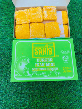 Picture of SAHIR MINI FISH BURGER <br> ( 1PKT / 1.1kg )