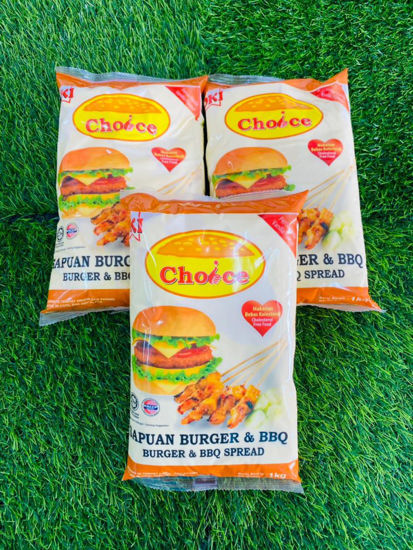 Picture of CHOICE BURGER BBQ SPREAD <br>( 1PKT / 1kg )