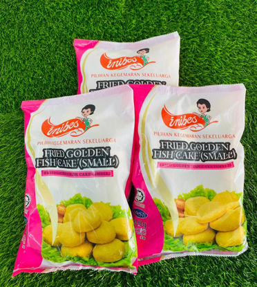 Picture of INIBES FRIED GOLDEN  FISH CAKE (S) (1pkt/900g)