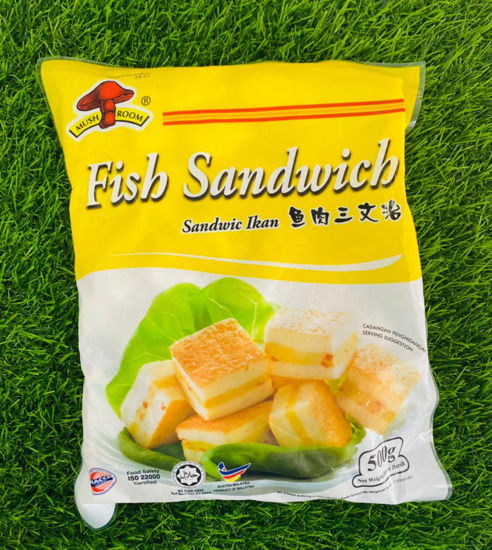 Picture of M/ROOM FISH SANDWICH <br>鱼肉三文治<br> ( 1PKT  / 500g )
