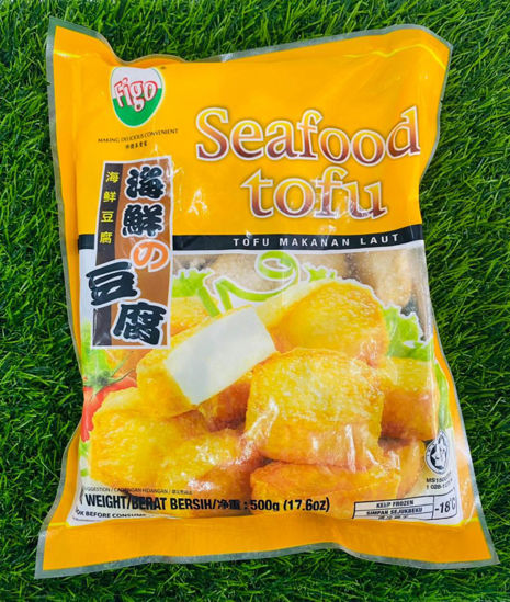 Picture of FIGO SEAFOOD TOFU<br> 海鲜豆腐 <br> ( 1PKT / 500g )