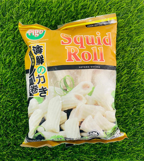 Picture of FIGO SQUID ROLL <br> 鱿鱼卷  <br> ( 1PKT / 500g )