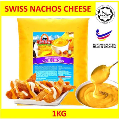 Picture of S/BEAR NACHO CHEESE SAUCE <br>( 1PKT / 1KG )