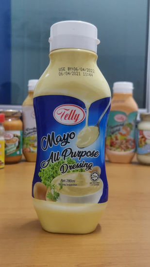 Picture of TELLY MAYO All PURPOSE DRESSING <br> ( 1BOTOL / 280ml )