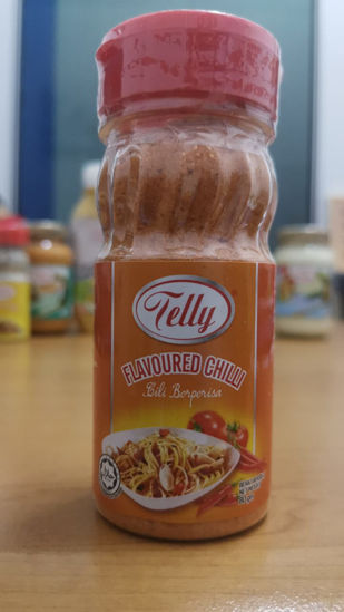 Picture of TELLY FLAVOURED CHILLI V1<br> ( 1BOTOL / 80g )