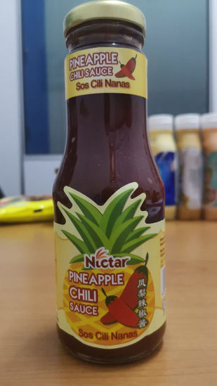 Picture of NICTAR PINEAPPLE CHILI SAUCE <br> ( 1BOTOL / 260g )