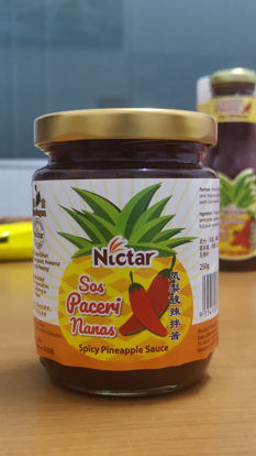 Picture of NICTAR SPICY PINEAPPLE SUACE <br> ( 1BOTOL / 250g )
