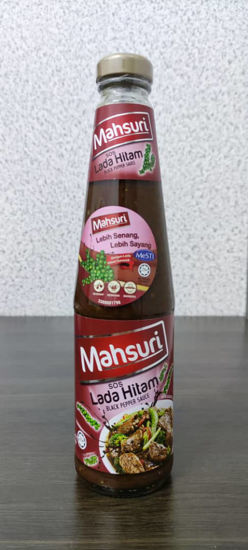 Picture of MAHSURI BLACK PEPPER SAUCE<br>( 1BOTOL / 490g )