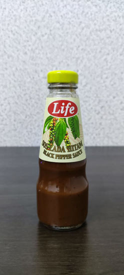 Picture of LIFE BLACK PEPPER SAUCE<br>( 1BOTOL / 250g )